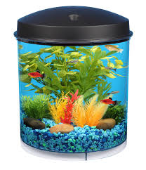 Spongebob Aquarium Decor Set by Kollercraft Api Aquaview 360 Aquarium Kit With Led Lighting And