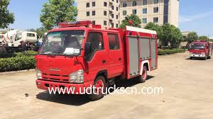 Philippines Custom Made ISUZU Mini ELF 100P Fire Truck With 3000L ...