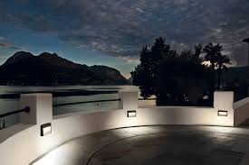 recessed wall light fixture led rectangular outdoor inside lights