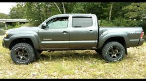 100 18x10 Truck Wheels Pt1 Tacoma 3 Lift Fuel Beast Wheels BeforeAfter Backspacing