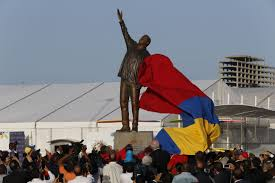 Northwest Pumpkin Patch San Bernardino by Angry Venezuela Protesters Take Aim At Chavez Statues Home