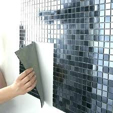 papier peint imitation carrelage cuisine papier peint salle de bain comment pour la sal papier peint vinyle