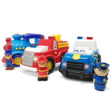 100 Boley Fire Trucks Amazoncom 3 Pack Emergency City Cars And Train Set
