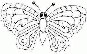 Butterfly Coloring Pages Free Printable 1