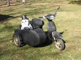 Honda Spree Scooter Sidecar Build