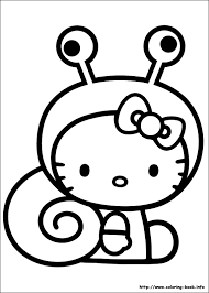 Hello Kitty Coloring Pages 14printablecoloring