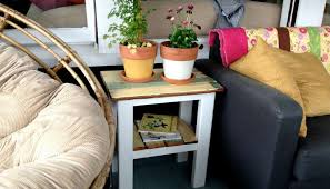 How To Build Wooden End Table by Build A Rustic Diy End Table From Reclaimed Wood House U0026 Hammer