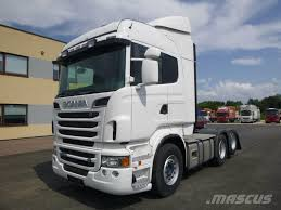 Used Scania -r500-6x2-euro5-retarder Tractor Units Year: 2013 Price ...