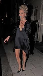 pixie lott in black satin dress 16 gotceleb