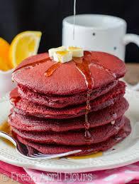 Pumpkin Cake Mix Pancakes by Red Velvet Pancakes