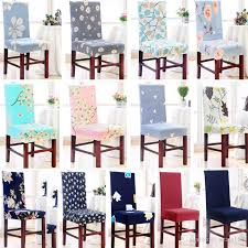 26 Styles Chair Cover Removable Washable Stretch Slipcovers Dining Room Seat Protector For Banquet Wedding Party Hh7 1214 Covers