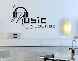 huis wandtattoo lounge musik wohnzimmer kinderzimmer