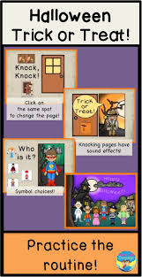 Free Halloween Ecards Interactive by Halloween No Prep Interactive Trick Or Treat Sequence Book With