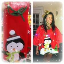 Christmas Tree Sweater Complete With Skirt