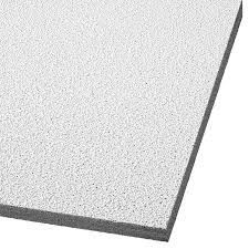 Armstrong Acoustical Ceiling Tile Paint by Shop Armstrong Ceilings Common 24 In X 24 In Actual 23 719 In