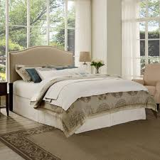 Walmart Curtains For Bedroom by Bedroom White Cotton Sheets With Beige Wingback Headboard And