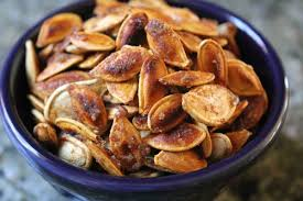 Can Bunny Rabbits Eat Pumpkin Seeds by Caramelized Pumpkin Seeds Cooking With My Kid