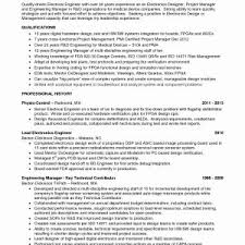 Cpa Resume New Sample Cv Examples Engineering Manager An Essay To