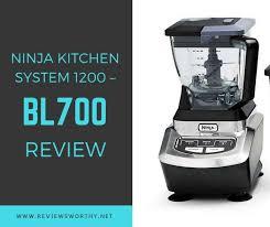 Ninja Kitchen System 1200 BL700 Review