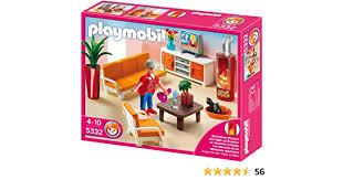 playmobil 5332 dollhouse living room