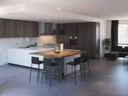 große hufeisenförmige küche mit halbinsel klab 06 diotti