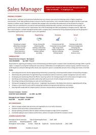 A Stunning Sales Manager Resume That Uses Graphics And Unique Layout To Draw Attention