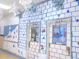 Winter Themed Classroom Door Decorations by Holiday Door Decorating Contest U2013 Adventures In Speech At P373 At Ps48