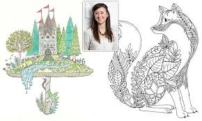 Johanna Basford Sells Million Copies Of Secret Garden Colouring In Book For Adults