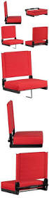Stadium Chairs For Bleachers With Arms by Other Outdoor Sports 159048 Driftsun Stadium Seat Reclining
