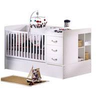 lit de chambre lit combiné évolutif transformable lits chambre bébé aubert