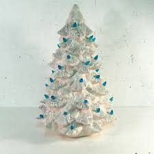 ceramic tree charming decorations with a vintage flair