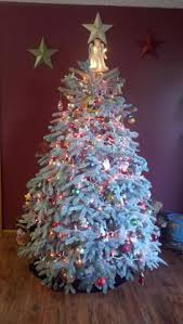 Flocking Christmas Tree Kit by My Dream Tree Flocked Christmas Trees Christmas All Through My