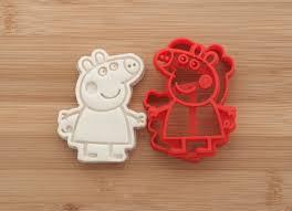 Peppa Pig Pumpkin Carving by Peppa Pig Cookie Cutters Gingerbread Fondant Cookies Peppa