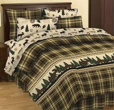 Rustic Warm Lodge Bedding