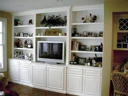 Built In Wall Cabinets Custom Cabinet A Beautiful White Entertainment Center Ideas