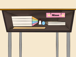 Table clipart organized desk Pencil and in color table clipart