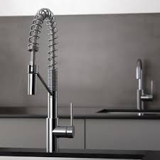Bar Faucet With Sprayer by Kraus Kpf2630ss Single Lever Faucet With 9 1 4 Inch Spout Reach