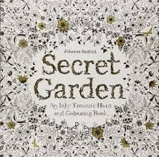 Secret Garden An Inky Treasure Hunt And Coloring Book By Johanna Basford Anti Stress