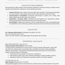 Student Resume Examples And Templates Example Qualifications Curriculum Vitae Information Technology Qualif Medium Size