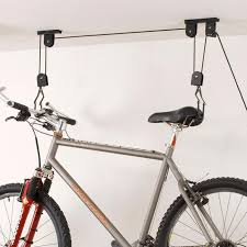 ceiling mount bike lift at brookstone buy now