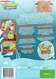 Spongebob Halloween Dvd Episodes by Image Spongebob On Tour Dvd Back Cover Jpg Encyclopedia