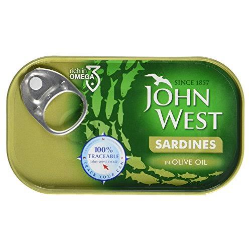 John West In Olive Oil Sardines - 120g