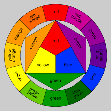 Click On The Image For An Outline Of Color Wheel To Print And