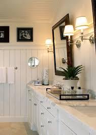 White Bathroom Beadboard