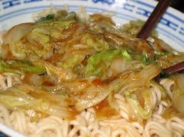 poêlée de chou chinois un végétarien à lille