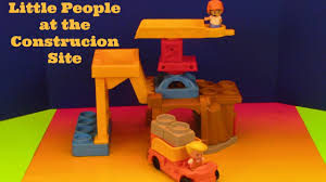 100 Little People Dump Truck Construction Site With Diggers For Children
