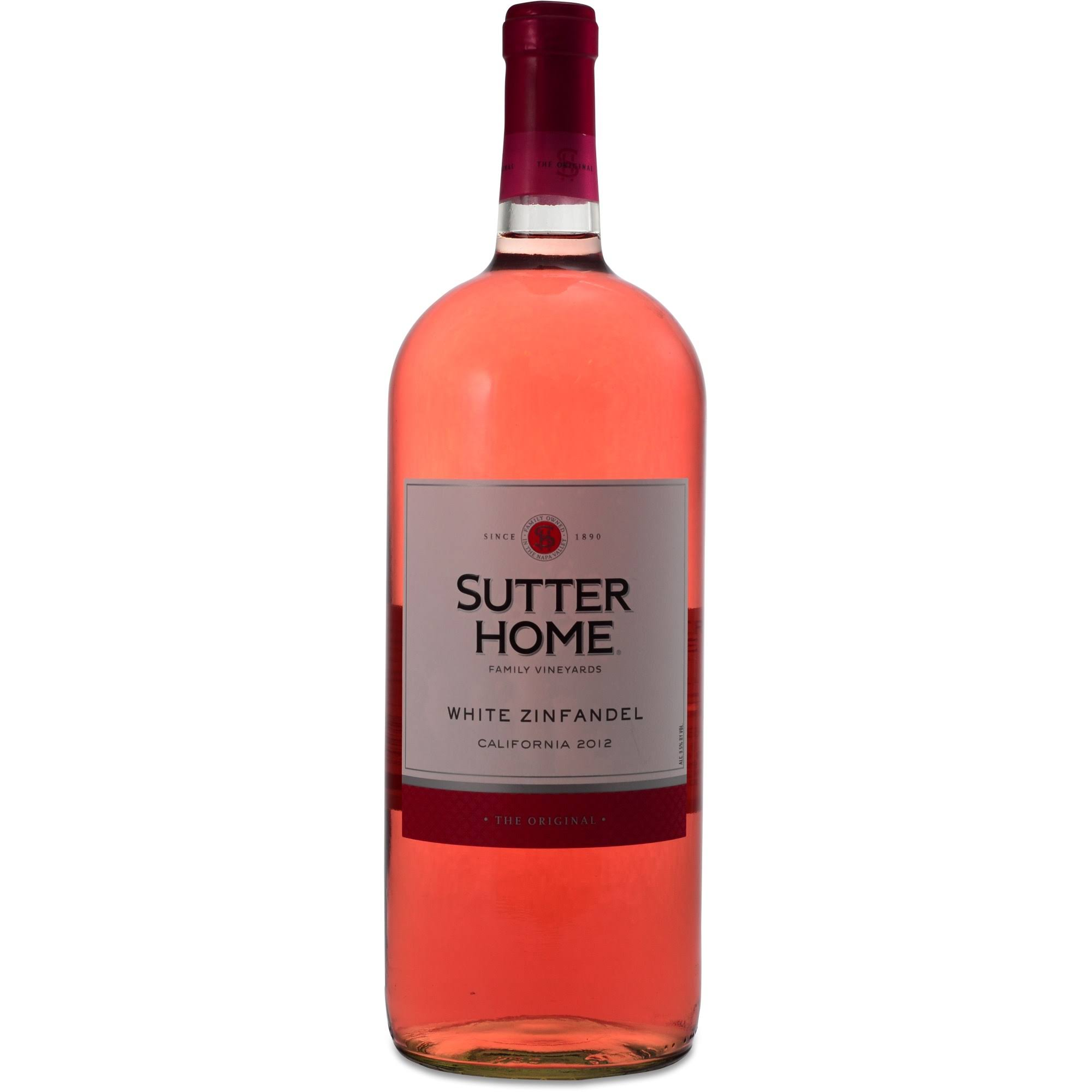 Sutter Home White Zinfandel Wine - 1.5l