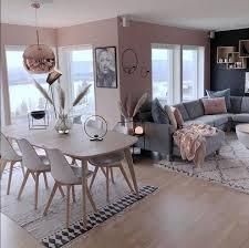 cinza rosa wohnung esszimmer wohnung wohnung wohnzimmer