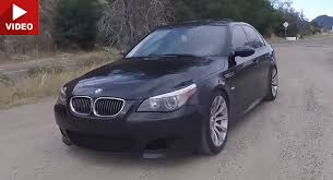 A Manual BMW M5 E60 Is The Four Door V10 Screamer You Want