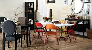 Dining Room Table Chairs Make For Every Guest And Unexpected Visitor With Extra Folding Tables
